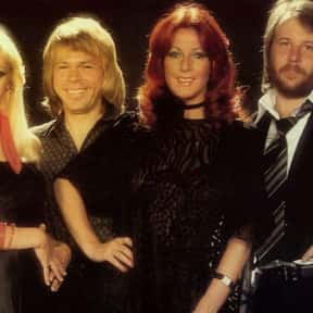 ABBA is listed (or ranked) 12 on the list RCA Records Complete Artist Roster