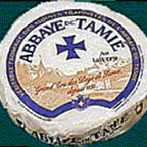 Abbaye de Tamie is listed (or ranked) 1 on the list Cheese Made from Cow Milk