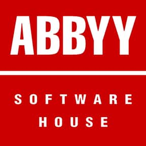 ABBYY is listed (or ranked) 6 on the list List of Computer Software Companies