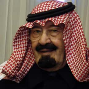 Abdullah of Saudi Arabia is listed (or ranked) 15 on the list Famous People From Saudi Arabia