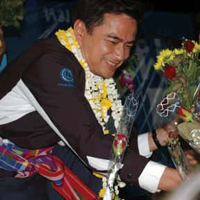 Abhisit Vejjajiva is listed (or ranked) 8 on the list List of Famous United Kingdom Politicians