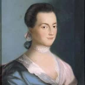 Abigail Adams is listed (or ranked) 4 on the list The Most Loved American First Ladies