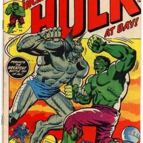 Abomination is listed (or ranked) 2 on the list The Best Hulk Villains Ever