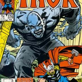 Absorbing Man is listed (or ranked) 17 on the list The Best Thor Villains, Foes, and Enemies of All Time