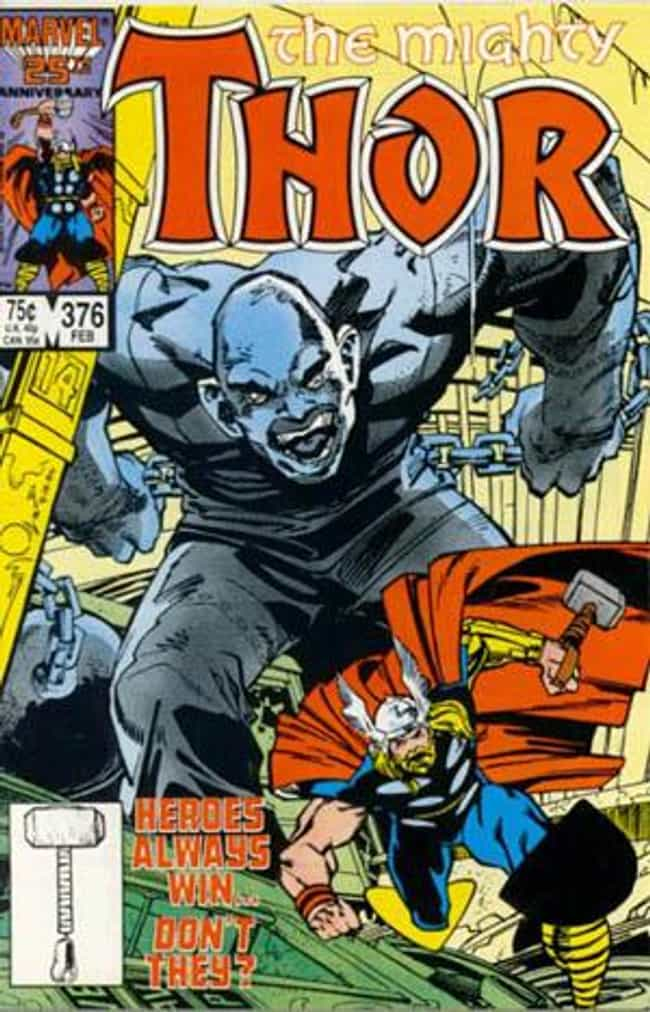 Absorbing Man is listed (or ranked) 3 on the list List of All Thor Villains & Enemies