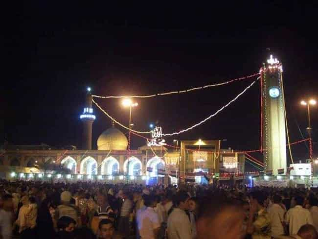 Abu Hanifa Mosque is listed (or ranked) 1 on the list List of Famous Baghdad Buildings & Structures