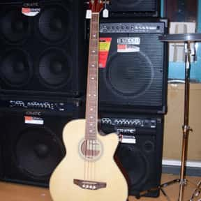 Acoustic bass guitar is listed (or ranked) 1 on the list Plucked String Instrument - Instruments in This Family