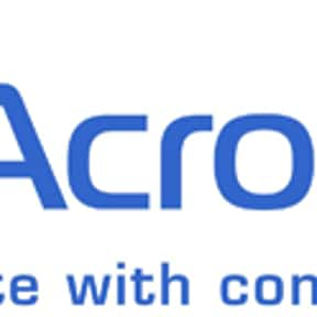 Acronis is listed (or ranked) 15 on the list List of Computer Software Companies