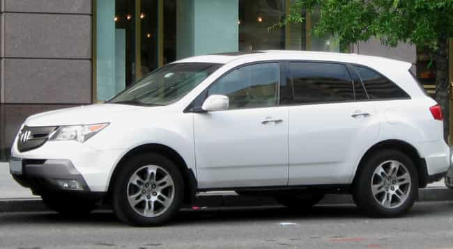 Acura Mdx Is Listed Or Ranked 2 On The List Full Of