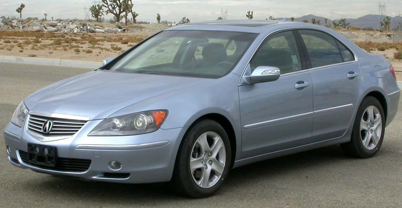 Acura RL is listed (or ranked) 4 on the list Full List of Acura Models