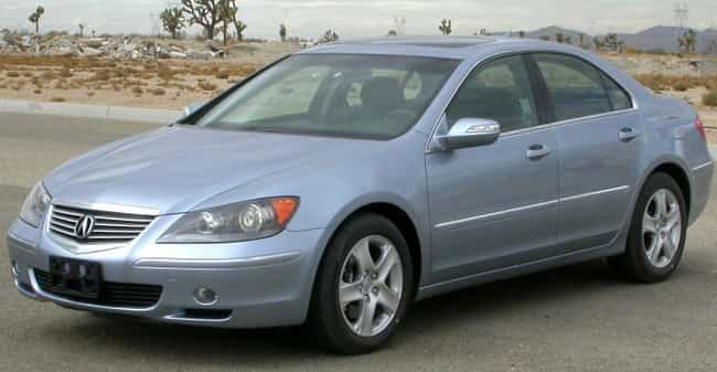 Acura Rl Is Listed Or Ranked 4 On The List Full Of
