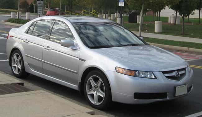 Acura Tl Is Listed Or Ranked 5 On The List Full Of