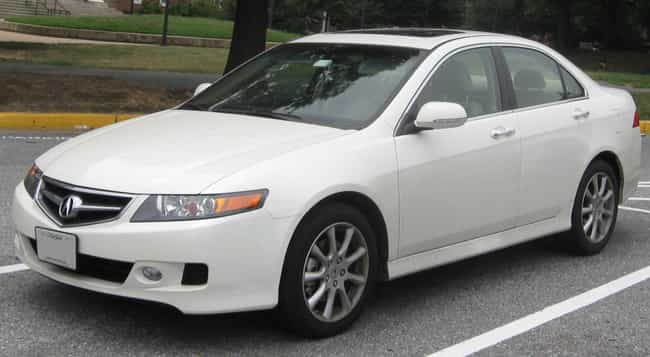 Acura Tsx Is Listed Or Ranked 1 On The List Full Of
