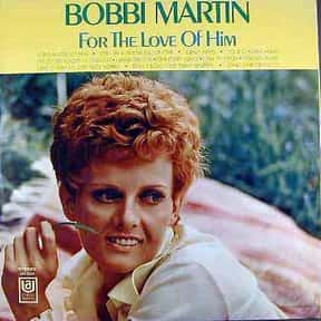 Bobbi Martin is listed (or ranked) 5 on the list Coral Records Complete Artist Roster