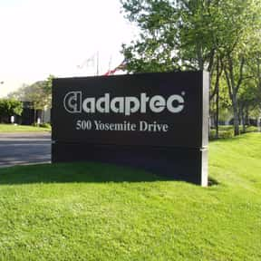 Adaptec is listed (or ranked) 9 on the list Companies Headquartered in California