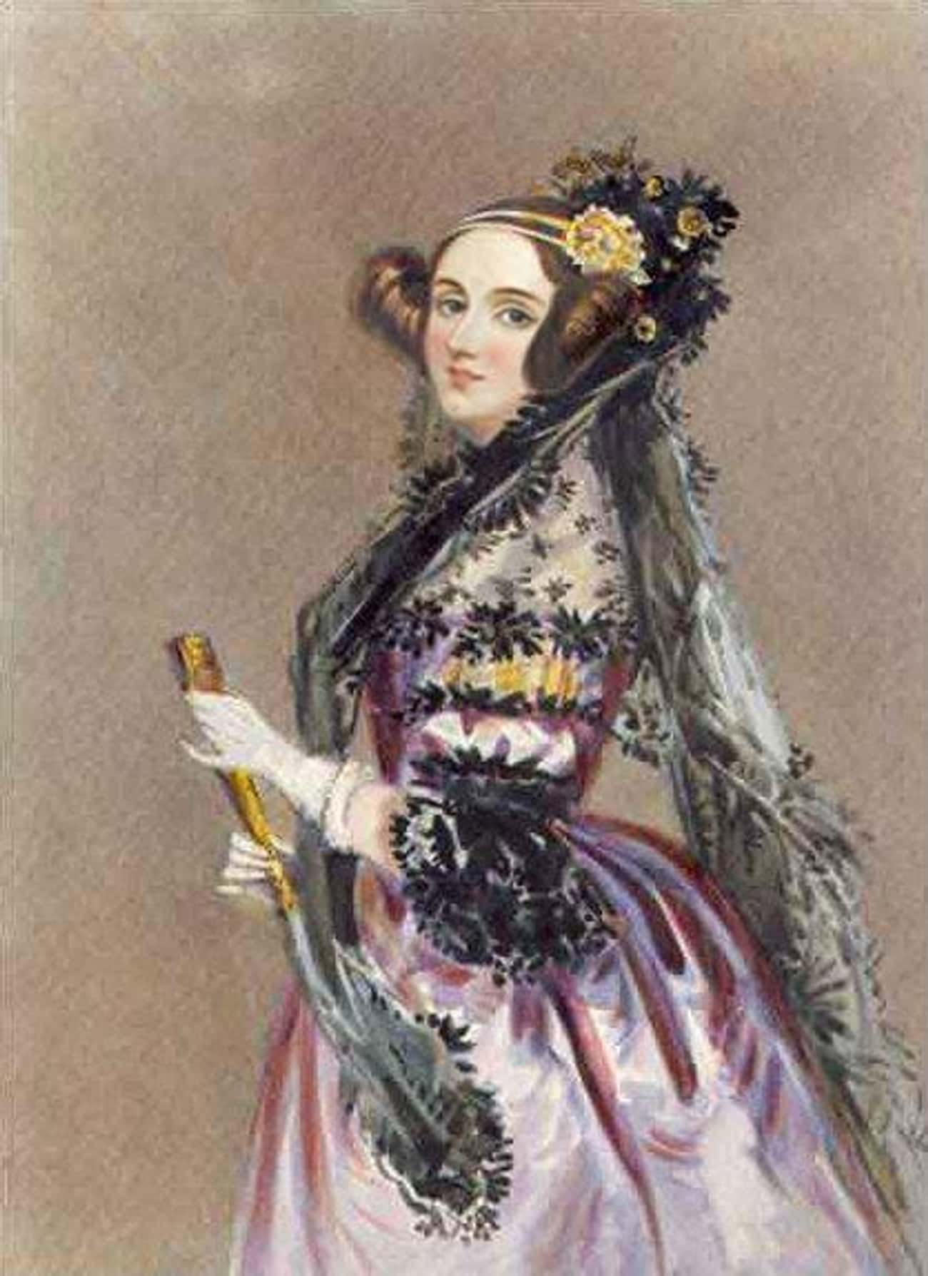 Ada Lovelace is listed (or ranked) 4 on the list Famous Female Engineers