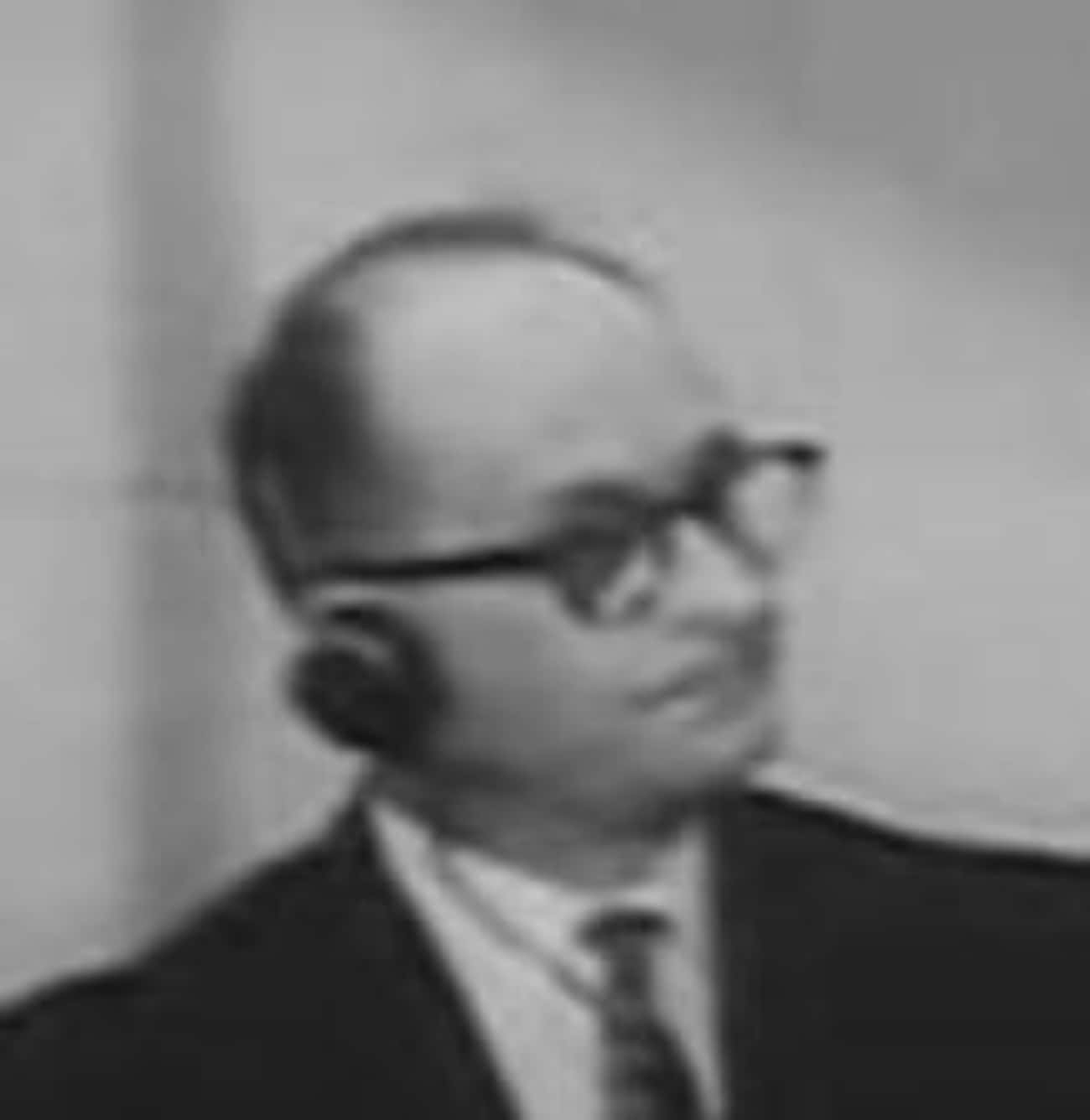 Adolf Eichmann is listed (or ranked) 2 on the list Famous People Who Died by Hanging