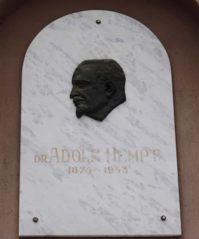 Adolf Hempt is listed (or ranked) 1 on the list Famous Scientists from Serbia
