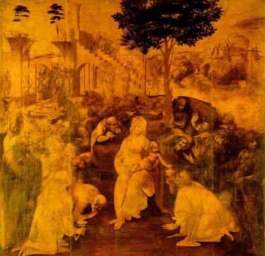 Adoration of the Magi is listed (or ranked) 1 on the list The Best Artwork by Leonardo Da Vinci