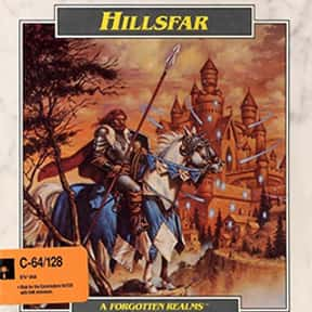 Hillsfar is listed (or ranked) 7 on the list List of All Role-playing Games