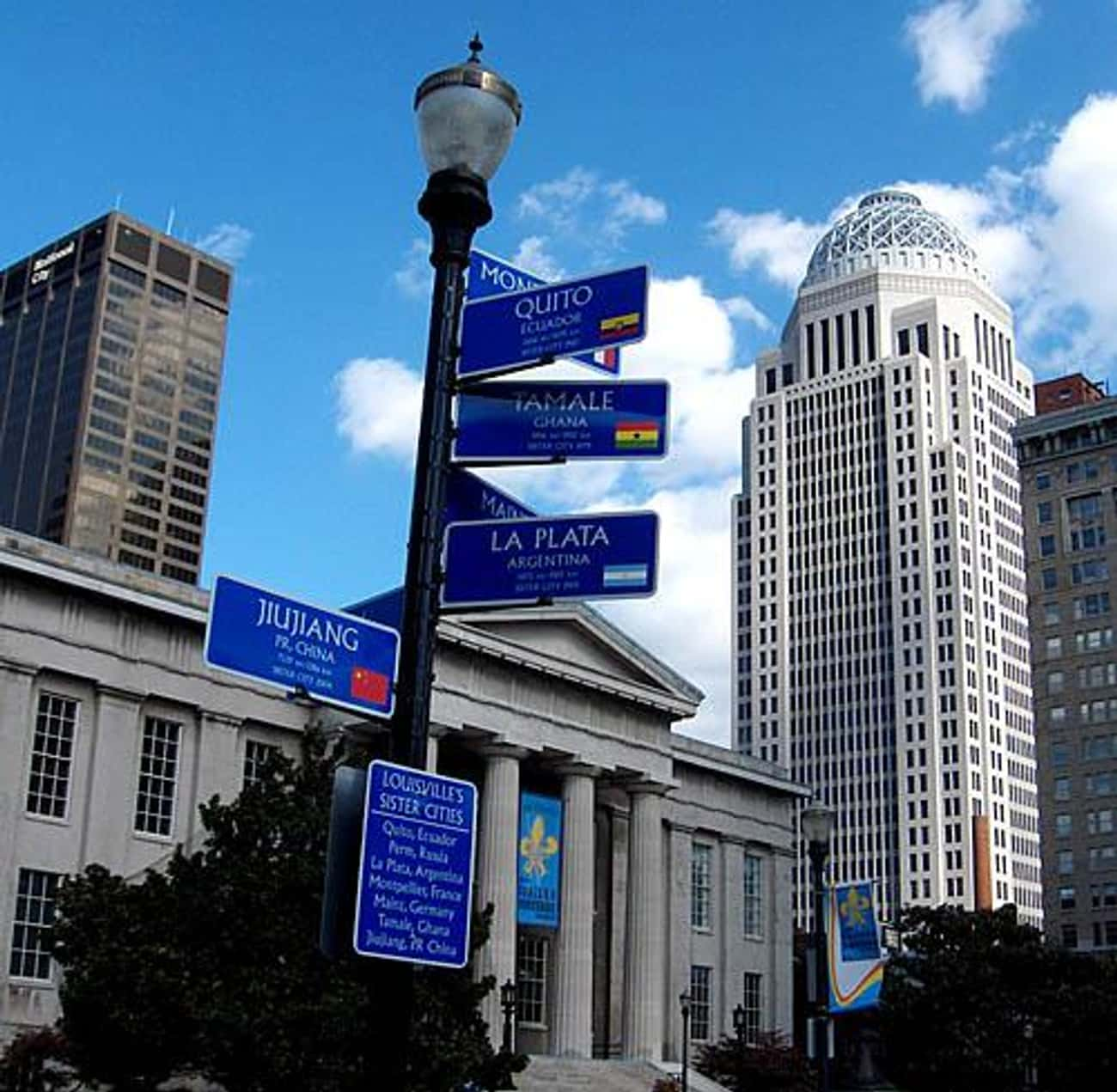 AEGON Center is listed (or ranked) 1 on the list List of Famous Louisville Buildings & Structures
