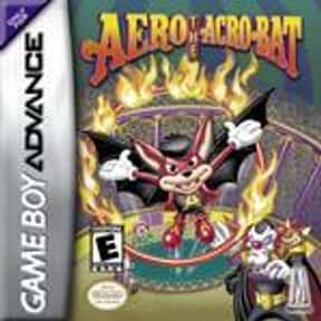 Aero the Acro-Bat is listed (or ranked) 10 on the list Nintendo Game Boy Advance Games
