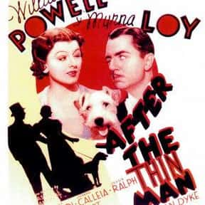 After the Thin Man is listed (or ranked) 7 on the list The Best '30s Thriller Movies