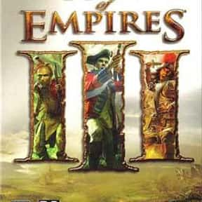 Age of Empires III is listed (or ranked) 4 on the list The Best Age Of Empires Games