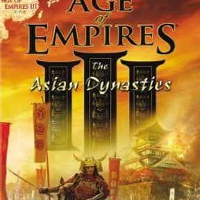 Age of Empires III: The Asian  is listed (or ranked) 7 on the list The Best Age Of Empires Games