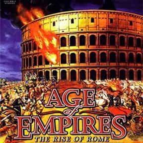 Age of Empires: The Rise of Ro is listed (or ranked) 8 on the list The Best Age Of Empires Games
