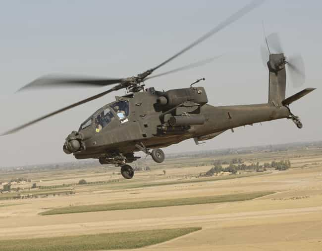 Boeing AH-64 Apache is listed (or ranked) 2 on the list Hughes Aircraft Airplanes and Aircrafts