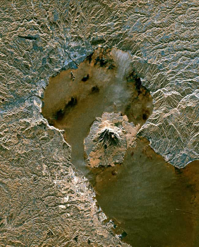 Aira Caldera is listed (or ranked) 6 on the list The World's 6 Known Supervolcanoes