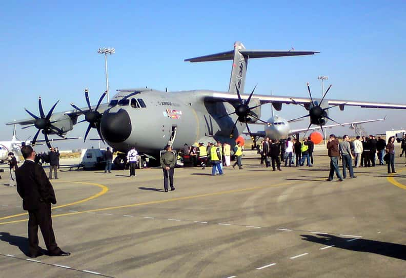 Airbus A400M Atlas is listed (or ranked) 8 on the list The Biggest Military Wastes of Money