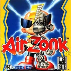 Air Zonk is listed (or ranked) 3 on the list The Best TurboGrafx-16 Games