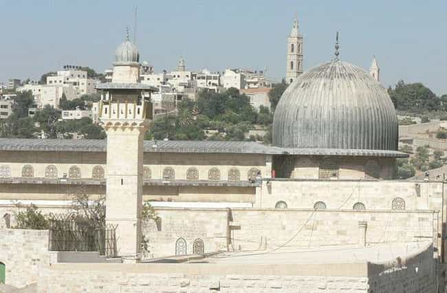 Al-Aqsa Mosque is listed (or ranked) 1 on the list The World's Biggest Mosques