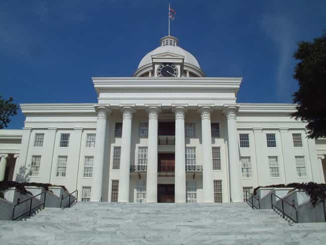 Alabama State Capitol is listed (or ranked) 1 on the list List of Famous Montgomery Buildings & Structures