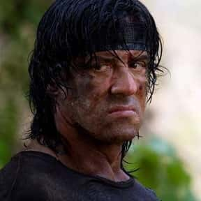 John Rambo is listed (or ranked) 2 on the list Movie Tough Guys Without Super Powers or a Super Suit