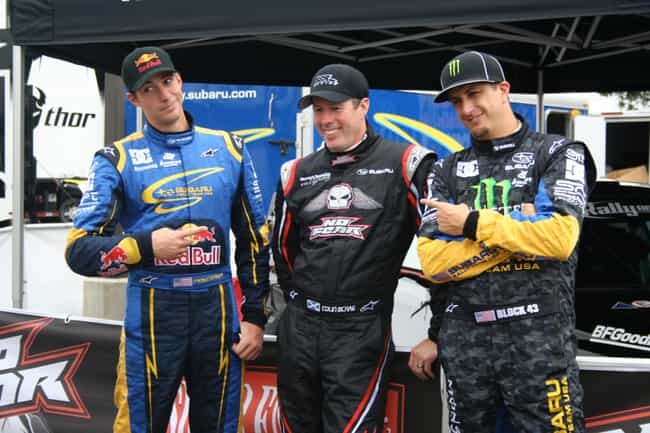 Ken Block is listed (or ranked) 4 on the list Famous Male Rally Drivers