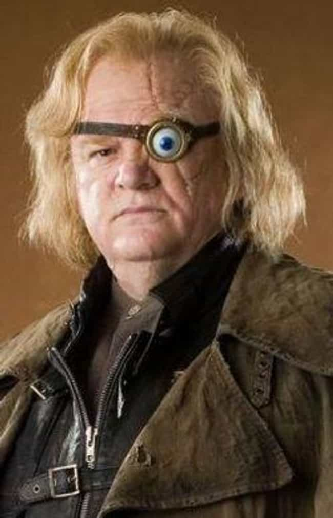 Alastor Moody is listed (or ranked) 3 on the list All the Defense Against the Dark Arts Teachers, Ranked