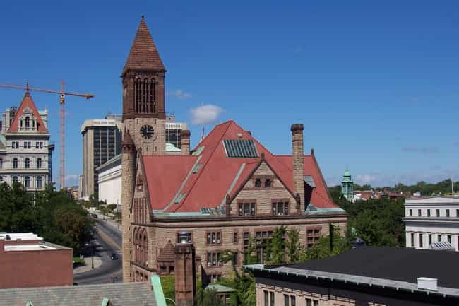 Albany City Hall is listed (or ranked) 1 on the list List of Henry Hobson Richardson Architecture