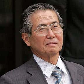 Alberto Fujimori is listed (or ranked) 17 on the list Famous Politicians from Japan