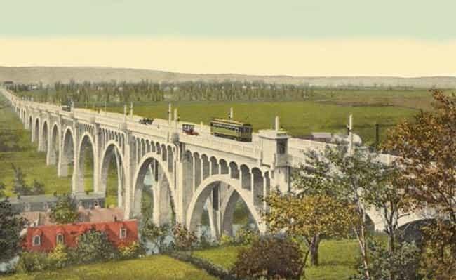 Albertus L. Meyers Bridge is listed (or ranked) 4 on the list Bridges in Pennsylvania