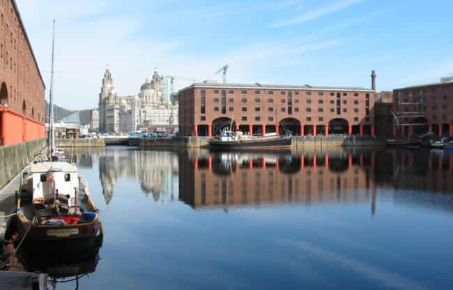 Albert Dock is listed (or ranked) 1 on the list Famous Doric order buildings