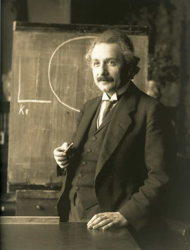 Albert Einstein is listed (or ranked) 6 on the list 26 Famous People Who Were Kicked Out of School