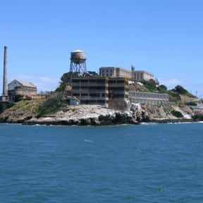 Alcatraz Island is listed (or ranked) 20 on the list The Best Tourist Attractions in America
