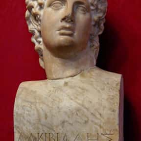 Alcibiades is listed (or ranked) 12 on the list List of Famous Orators