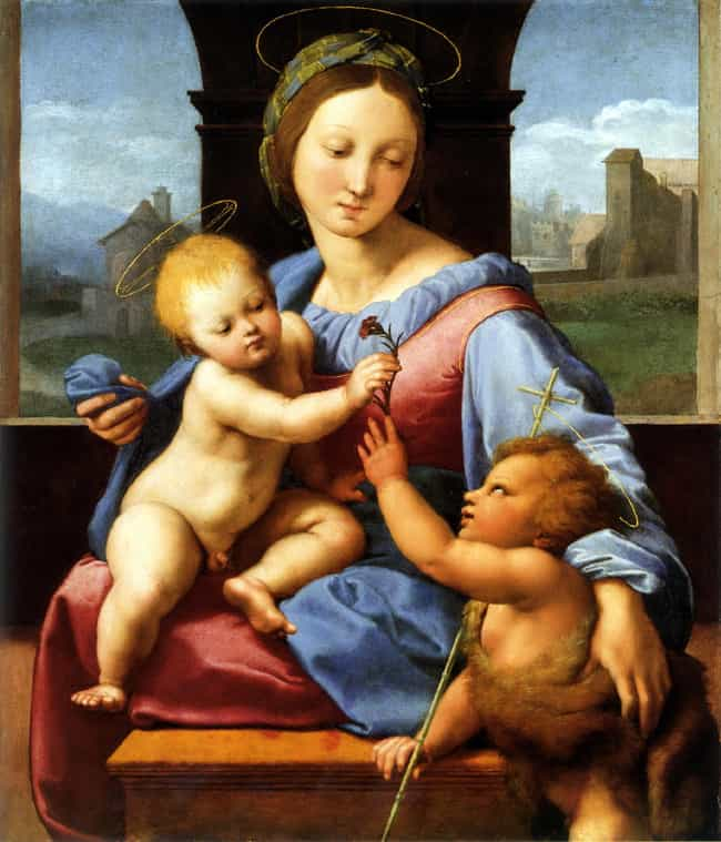 Aldobrandini Madonna is listed (or ranked) 2 on the list Famous Jesus Christ Art