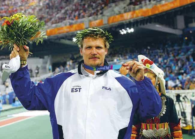 Aleksander Tammert is listed (or ranked) 2 on the list Popular Estonia Olympic Athletes