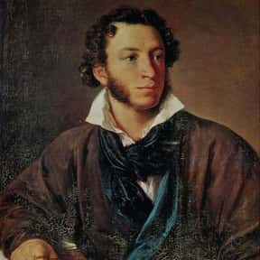 Aleksandr Pushkin is listed (or ranked) 1 on the list The Greatest Poets of All Time