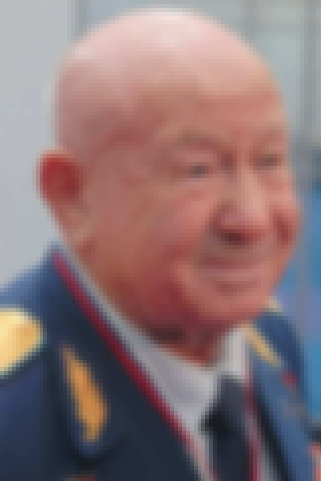 Alexey Leonov is listed (or ranked) 7 on the list List of Famous Fighter Pilots